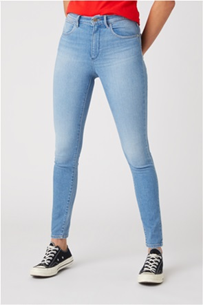 Wrangler γυναικείο τζην παντελόνι ψηλόμεσο Skinny Fit