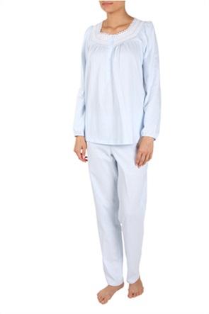 Rösch γυναικείες πιτζάμες με διακοσμητική δαντέλα