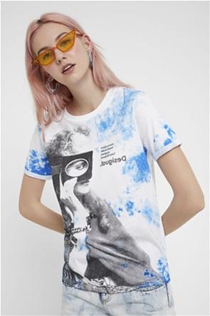 Desigual γυναικείο T-shirt με graphic print