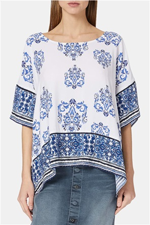Desigual γυναικεία μπλούζα με all-over print ''Andes''