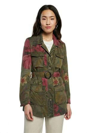 "Desigual γυναικείο jacket με all-over floral print ""Camoasis"""