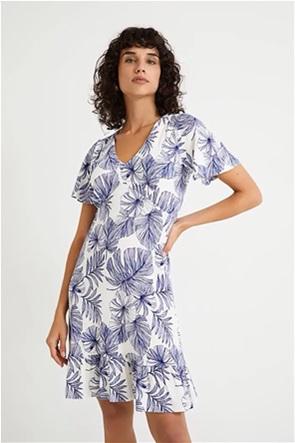 Desigual  γυναικείο mini φόρεμα με all-over floral print ''Nadia''