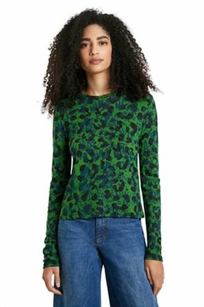 "Desigual γυναικεία μπλούζα με all-over flower print ""Darling"""
