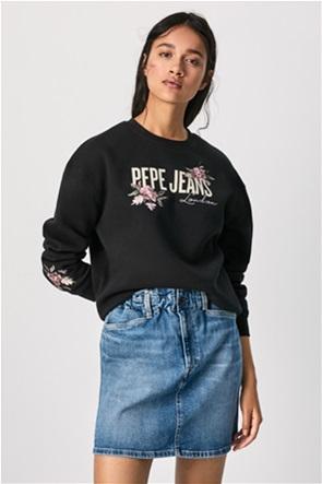 Pepe Jeans γυναικείo φούτερ με κέντημα