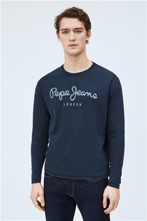 Pepe Jeans ανδρική μπλούζα με logo print
