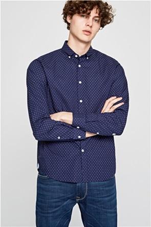 Pepe Jeans ανδρικό πουκάμισο με μικροσχέδιο Davon