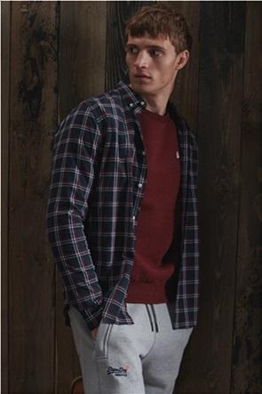 Superdry ανδρικό πουκάμισο με καρό σχέδιο
