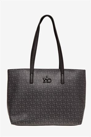 b28026f6a9 Roccobarocco γυναικεία τσάντα ώμου μονόχρωμη. 109