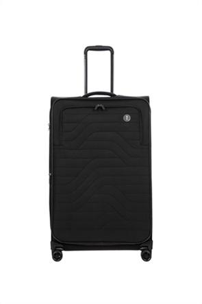 """Bric's βαλίτσα καμπίνας soft αυξομειούμενη """"Itaca Ocean Black"""" 73 x 46 x 28 cm"""