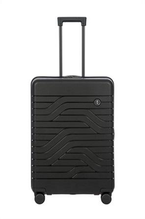 "Bric's βαλίτσα trolley expandable ""Ulisse Black"" 49x71x28/32 cm"
