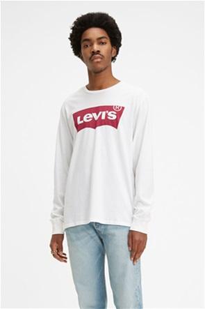 Levi's ανδρική μακρυμάνικη μπλούζα  με print logo