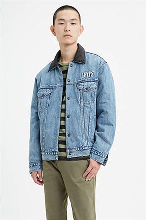 Levi's® ανδρικό jacket 2 όψεων με κεντημένο λογότυπο