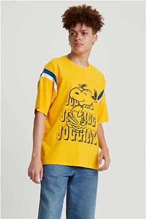 "Levi's® ανδρικό T-shirt με graphic print ""X Peanuts Football"""
