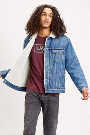 "Levi's ανδρικό denim jacket με γούνα ""Type III Sherpa Trucker"""