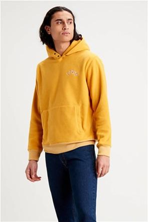 "Levi's® ανδρική μπλούζα fleece με κουκούλα και κεντημένο logo ""Polar Fleece"""