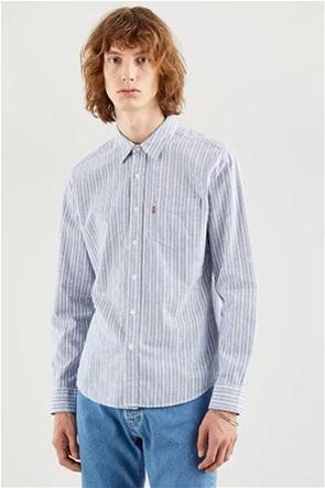 Levi's® ανδρικό πουκάμισο με ριγέ σχέδιο Slim Fit ''Sunset''