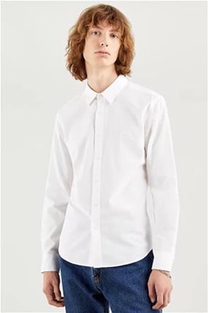 Levi's® ανδρικό πουκάμισο μονόχρωμο Slim Fit ''Housemark''