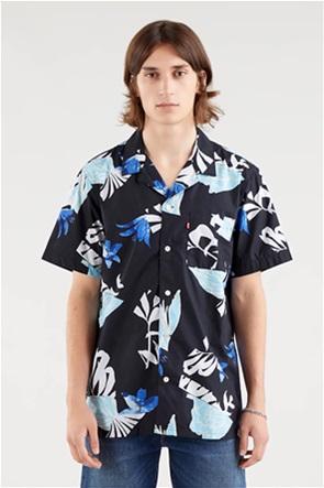 Levi's® ανδρικό πουκάμισο με all-over tropical floral print ''Cubano''
