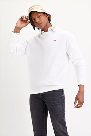 Levi's® ανδρική φούτερ μπλούζα με κεντημένο λογότυπο ''Οriginal Crew Neck''