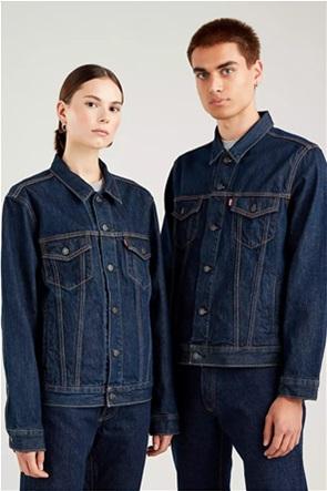 Levi's® unisex denim jacket με contrast ραφές ''The Trucker''