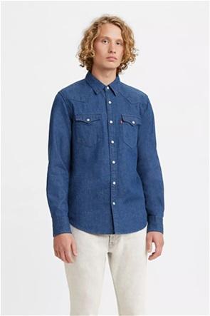 Levi's® ανδρικό πουκάμισο denim με flap τσέπες ''Barstow Western Shirt''