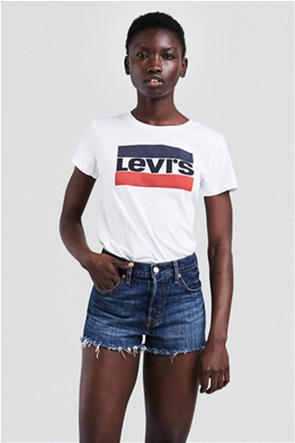 Levi's γυναικείο T-shirt λευκό The Perfect Graphic Tee