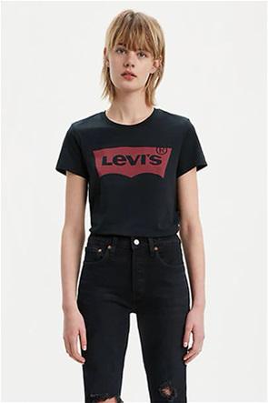 "Levi's γυναικείο T-shirt μαύρο ""The Perfect Tee"""