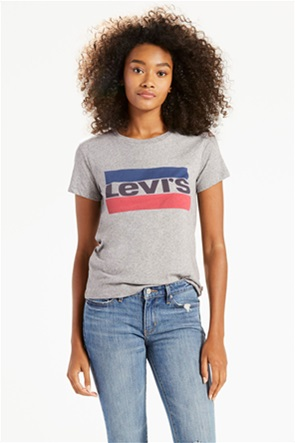 Levi's γυναικείο T-shirt γκρι The Perfect Graphic Tee