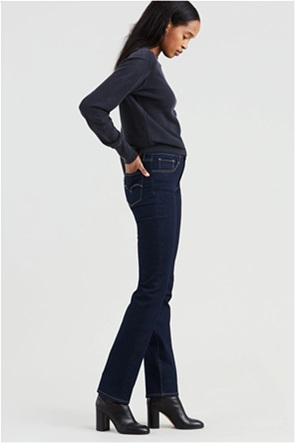 Levi's γυναικείο τζην παντελόνι 724 High Rise Straight (32L)
