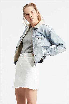 "Levi's γυναικείο denim jacket ""Ex-Boyfriend Sherpa Trucker Jacket"""