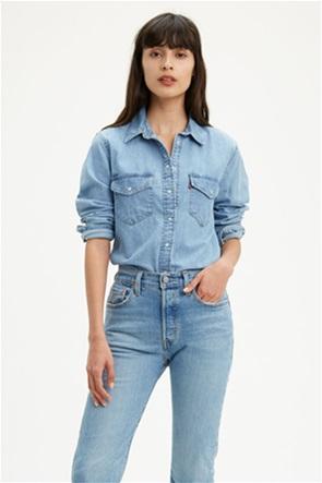 Levi's® γυναικείο τζην πουκάμισο με τσέπες