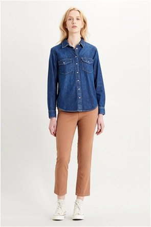 "Levi's® γυναικείο denim πουκάμισο με τσέπες ""Essential Western"""