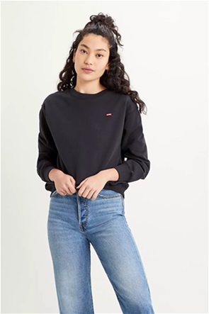 "Levi's® γυναικεία μπλούζα φούτερ με logo patch ""Standard Crewneck"""