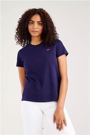 "Levi's® γυναικείο T-shirt  με logo patch ""The Perfect Tee"""