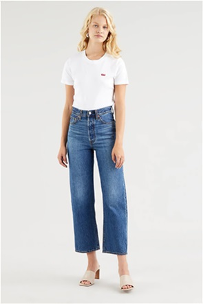 """Levi's® γυναικείο τζην παντελόνι cropped """"Ribcage Straight Ankle"""" (27L)"""
