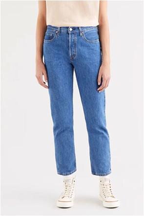 Levi's® γυναικείο τζην παντελόνι πεντάτσεπο cropped 501® (28L)