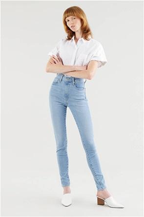 Levi's® γυναικείο τζην παντελόνι ψηλόμεσο Super Skinny Fit ''Mile'' (32L)