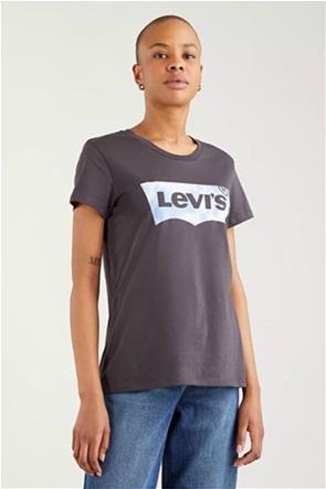 Levi's® γυναικείο T-shirt με logo print ''The Perfect Tee''