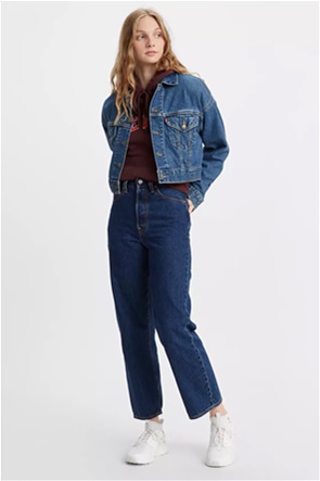 Levi's® γυναικείο τζην παντελόνι ψηλόμεσο ''Ribcage Straight Ankle'' (29L)