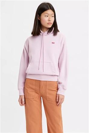 Levi's® γυναικεία φούτερ μπλούζα με κεντημένο λογότυπο ''Standard Hoodie''