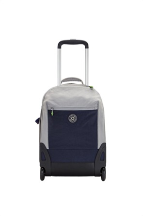 Kipling παιδικό τροχήλατο σακίδιο πλάτης με θέση για laptop