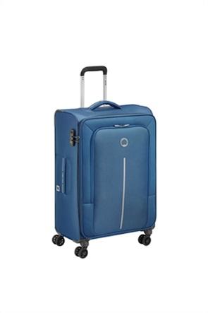 "Delsey βαλίτσα trolley soft ""Caracas Blue"" 68 x 44 x 26 cm"