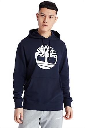 Timberland ανδρική φούτερ μπλούζα με logo print και κουκούλα