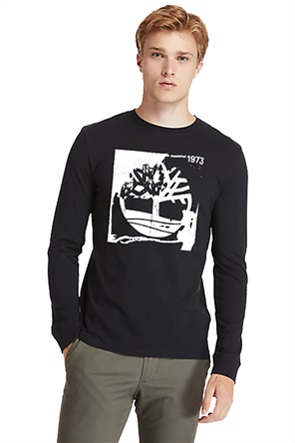 Timberland ανδρική μπλούζα με logo print