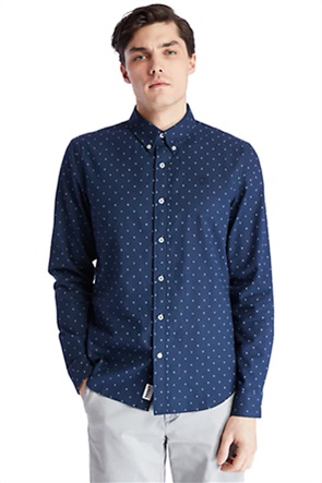 Timberland ανδρικό πουά πουκάμισο button down ''Tioga River''