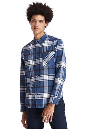 Timberland ανδρικό πουκάμισο καρό με τσέπη ''Back River''