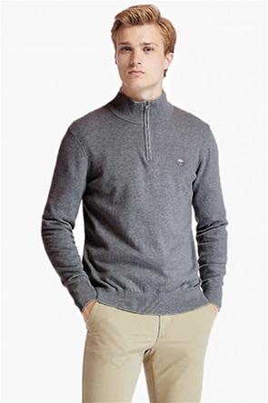 Timberland ανδρικό πουλόβερ με κεντημένο λογότυπο και φερμουάρ 1/2 ''Williams River''