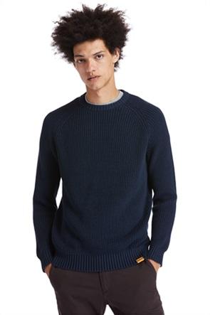 Timberland ανδρική πλεκτή μπλούζα μονόχρωμη