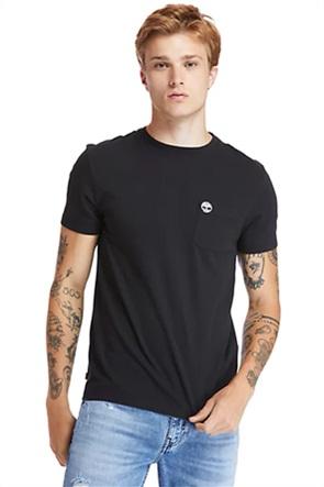 Timberland ανδρικό T-Shirt με απλικέ τσέπη στο στήθος ''Dunstan River''