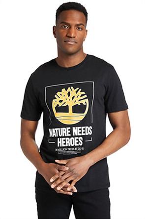 Timberland ανδρικό T-shirt με logo print ''NNH''